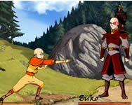 Avatar The Last Air Bender Bending Battle játék