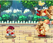 Street fighter creation online játék